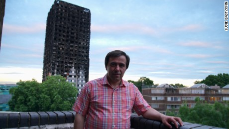 Miguel Alves and his family lived at Grenfell Tower for 19 years.