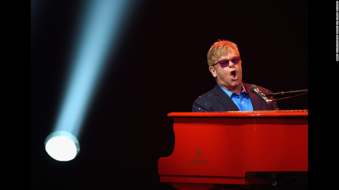 "<a href=""http://www.cnn.com/2013/06/04/showbiz/elton-john-fast-facts/index.html"">Elton John</a> is one of the best-selling recording artists of all time. <a href=""https://www.billboard.com/articles/columns/chart-beat/7735709/elton-john-biggest-billboard-hot-100-hits"" target=""_blank"">The singer has charted more than 60 songs on Billboard's Hot 100 list</a>, including nine No. 1 hits. <a href=""https://www.grammy.com/grammys/artists/elton-john"" target=""_blank"">The five-time Grammy winner </a>was inducted into the <a href=""https://www.rockhall.com/inductees/elton-john"" target=""_blank"">Rock & Roll Hall of Fame in 1994</a> and knighted by Queen Elizabeth II in 1998 for his music and work in AIDS charities. Take a look at the life of the legendary musician, here performing in Los Angeles in 2016:"