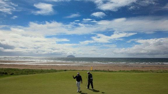 Turnberry: The Ailsa course occupies a sublime location overlooking the Firth of Clyde with sweeping views to the Ailsa Craig rock and the Isle of Arran.