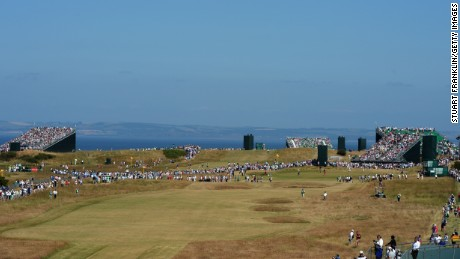 Muirfield is the big attraction on Scotland's 'Golf Coast' in East Lothian.