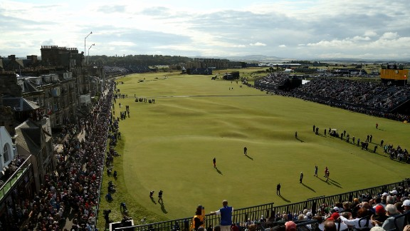 St. Andrews: There are six courses squeezed onto St. Andrews