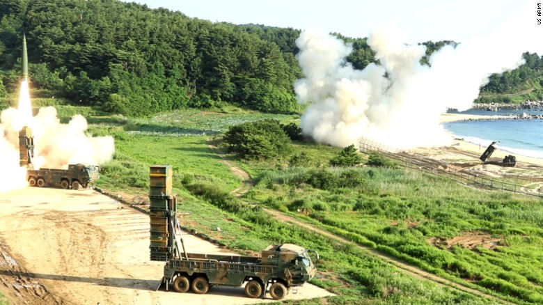 US, South Korea hold joint missile drill