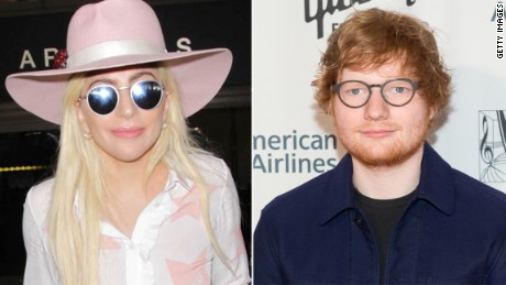 Lady Gaga has offered support to Ed Sheeran who said he's done with Twitter.