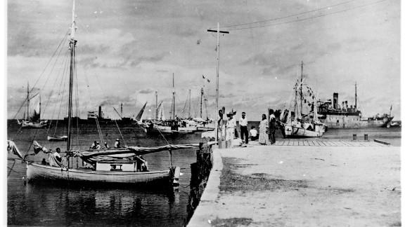 A new History Channel special claims this photo is proof Amelia Earhart and Fred Noonan were in the Marshall Islands after their plane disappeared.