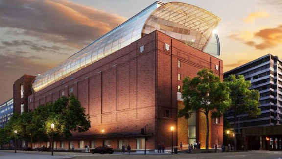 A rendering shows the Museum of the Bible