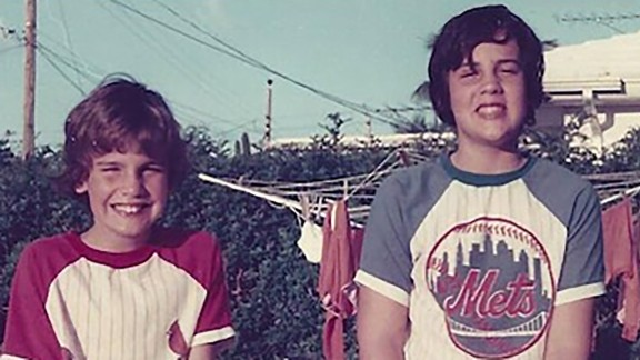 Christie, right, stands with his brother, Todd, in this old photo he posted to Instagram in October 2015. Christie was born in Newark, New Jersey, in 1962. His family later moved to Livingston, New Jersey, where he attended high school before enrolling at the University of Delaware.