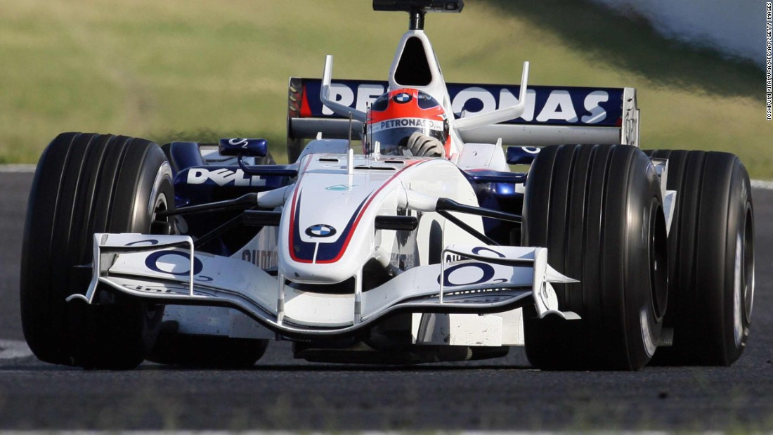 Kubica was one of Formula One's brightest talents until his career was cut short by a rally crash ahead of the 2011 season. The Pole made his F1 debut for BMW Sauber (pictured) at the 2006 Hungarian Grand Prix.