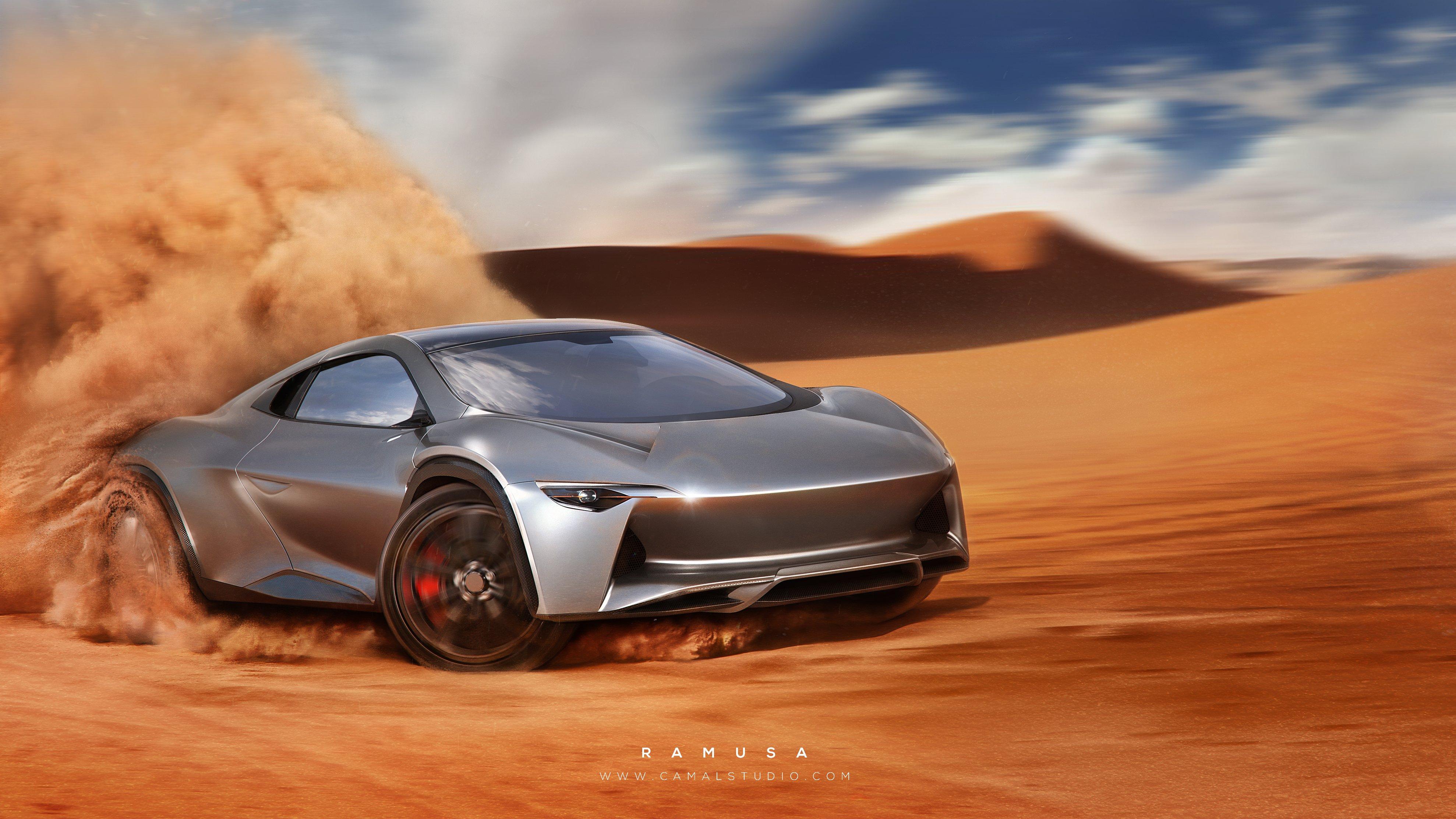 Sandracer GT Enter The Dune Bashing Supercar CNN Style - Supercar