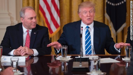 Trump shuts down Scalise's concealed carry push