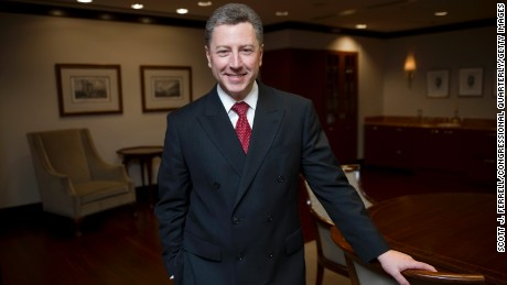 WASHINGTON, DC - May 19: Kurt Volker, former U.S. NATO ambassador, has been appointed  special representative for Ukraine by the State Department (Photo by Scott J. Ferrell/Congressional Quarterly/Getty Images)