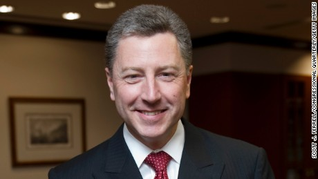 WASHINGTON, DC - May 19: Kurt Volker, former U.S. NATO ambassador, is now managing director at BGR Group. (Photo by Scott J. Ferrell/Congressional Quarterly/Getty Images)