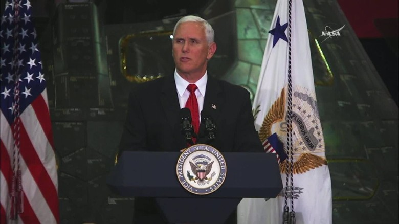 Pence: We will put American boots on Mars