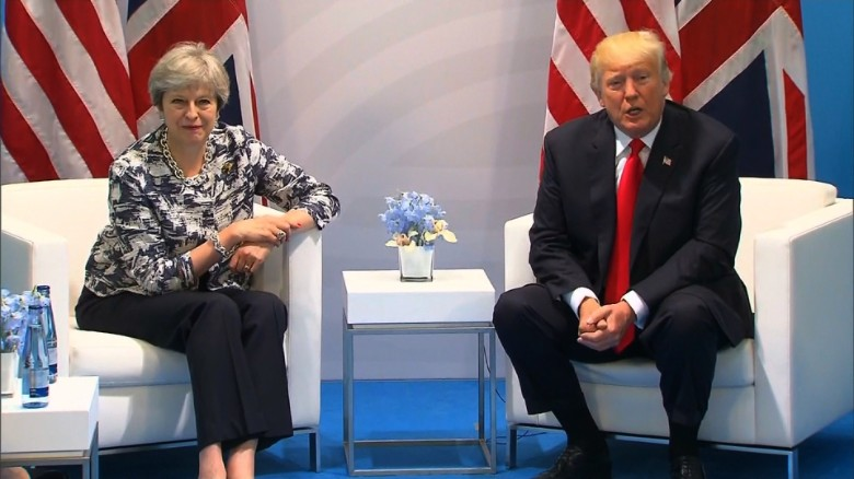 donald trump theresa may g20 meeting london bts_00000121