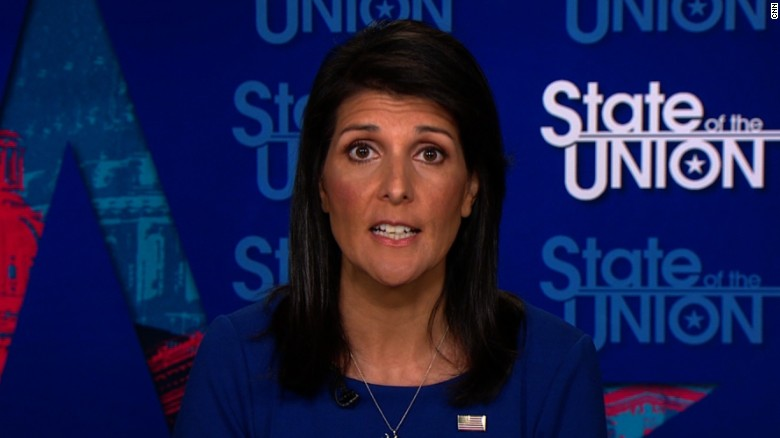 "Haley: ""Everybody knows Russia meddled"""