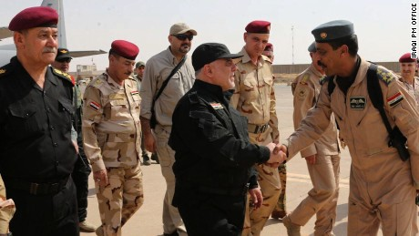 Iraqs PM claims Mosul liberated from ISIS