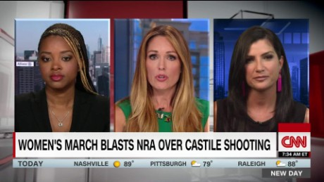 Women's march blasts NRA over Castile shooting_00083302