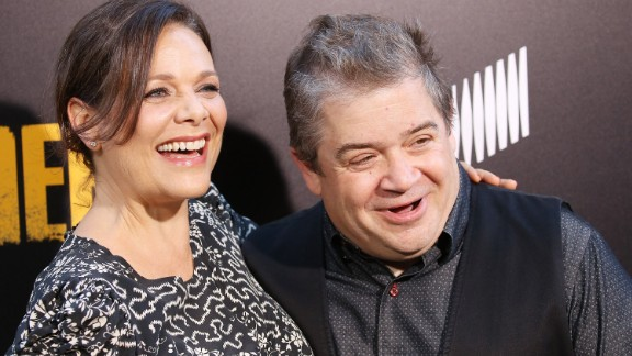 Meredith Salenger and Patton Oswalt are hitting back at their critics.