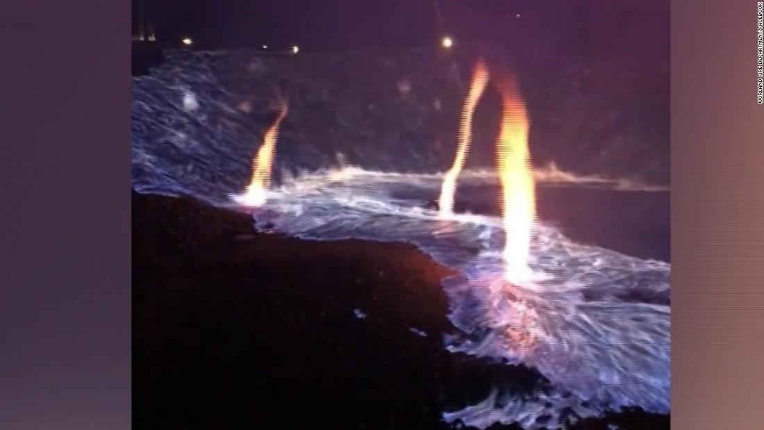 See water roar down Oroville Dam spillway - CNN Video