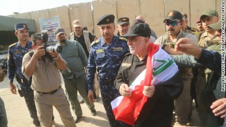 Iraq declares end of ISIS control in Mosul