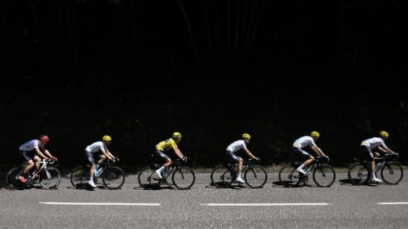 The fifth stage the Tour was the last time Thomas wore the yellow jersey. The 31-year-old, one of Froome