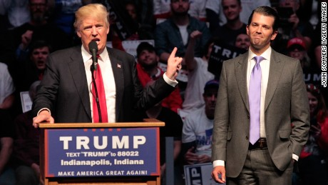 Russia cloud follows Donald Trump Jr. meeting on Capitol Hill Thursday
