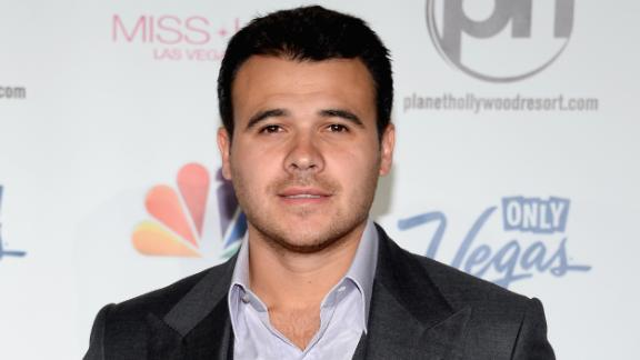 LAS VEGAS, NV - JUNE 16:  Singer Emin Agalarov arrives at the 2013 Miss USA pageant at Planet Hollywood Resort & Casino on June 16, 2013 in Las Vegas, Nevada.  (Photo by Ethan Miller/Getty Images)