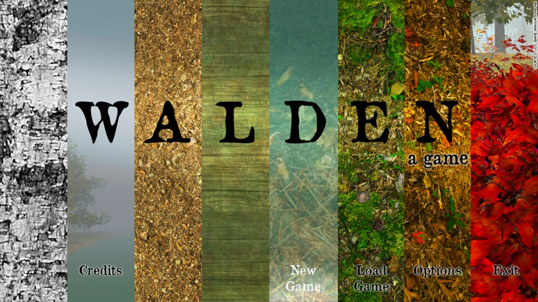 """Walden, a game"" recreates Henry David Thoreau's experiment to live in a cottage in the woods near Concord, Massachusetts.<br />"