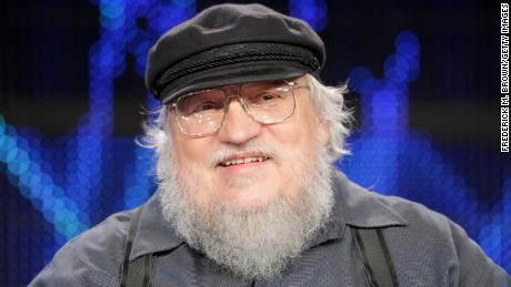 Writer George R.R. Martin speaks during the 'Game of Thrones' panel at the HBO portion of the 2011 Winter TCA press tour held at the Langham Hotel on January 7, 2011 in Pasadena, California.