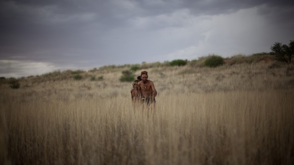 Located in northern South Africa, on the border with Botswana and Namibia, is a large terrain which has evidence of human occupation from the Stone Age to the present day. The area is home to the Khomani San people who are known for their unique cultural practices arisen from the geography of the region.