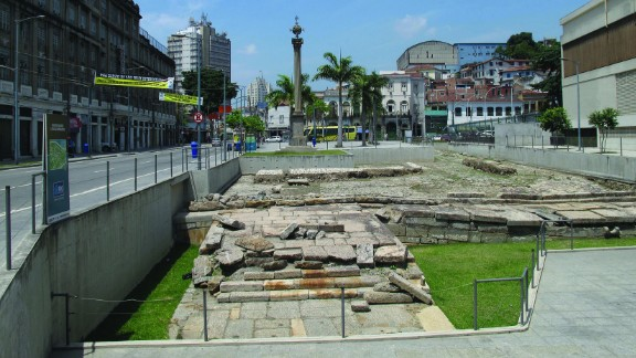 Not strictly African, but the city of Rio de Janeiro, and the country of Brazil, have inextricable ties to the continent due to the history of slavery. The Valongo Wharf is one of the most significant physical traces of this legacy, being the arrival point for 900,000 enslaved Africans in the early 19th century.