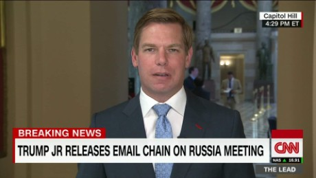 TL Swalwell interview Trump Jr Releases Bombshell Emails live_00011628