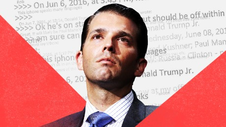 Donald Trump Jr.'s emails undermine what the White House has been saying