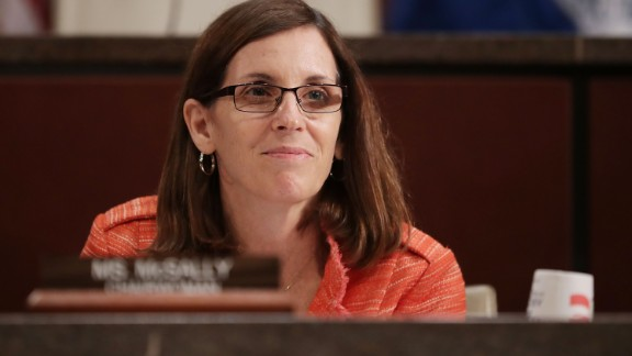 House Homeland Security Committee's Border and Maritime Security Subcommittee Chair Martha McSally (R-AZ) conducts a hearing at the U.S. Capitol May 23, 2017 in Washington, DC.