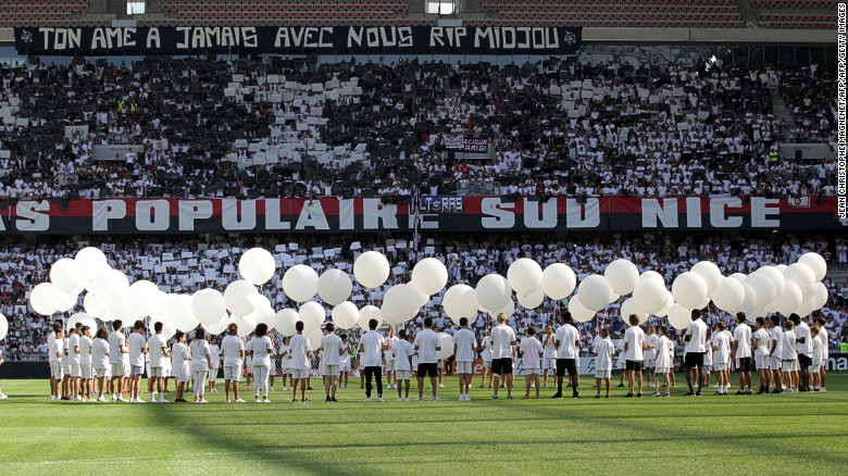 How a football team gave joy to Nice in grief