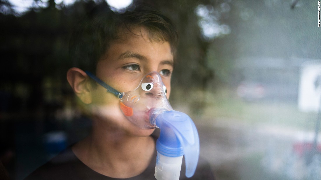 Pediatricians say florida hurt sick kids to help big gop donors cnn alejandro rodriguez wears a nebulizer mask to help him breathe after he filed a lawsuit altavistaventures Gallery