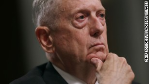 Mattis warns Syria against using chemical weapons