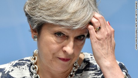 Pressure on Prime Minister Theresa May has been growing since the June election that cost her a majority in the House of Commons.
