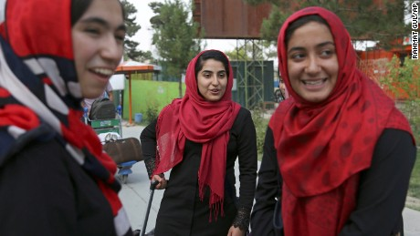 Afghan robotics team allowed to travel to US after Trump intervenes