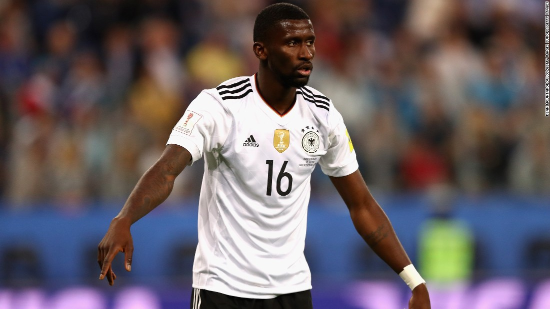 Antonio Rudiger's stellar performances for Germany's Confederations Cup winning side were enough to convince Chelsea boss Antonio Conte the 24-year-old should become his newest defensive signing, as the Blues look to strengthen their backline in hopes of retaining the Premier League title.