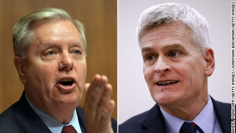 First on CNN: Graham, Cassidy unveil details of alternative health care plan