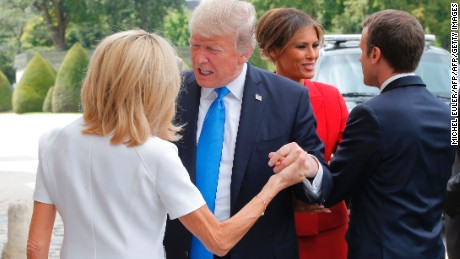 How Trump's 'compliment' to Brigitte Macron hurts America
