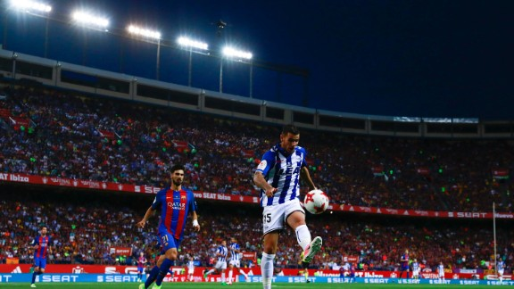 Theo Hernandez has become one of the few that have dared to make the cross-city switch from Atletico to Real Madrid following his eye-catching performance whilst on loan at Deportivo Alavés. The 19-year-old made 37 appearances for the Basque side, averaging two tackles per game.