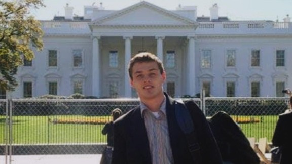 Mikhail Semenko was living outside Washington under his real name before he was arrested as part of the group of ten. The FBI said his background check was clean enough to allow him entry into the United States on a student visa. Nonetheless, he eventually worked as a spy for Russia, the FBI said. This snapshot shows Semenko posing in front of the White House.