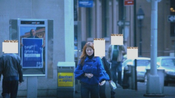 Another of the arrested spies was Anna Chapman, shown here in an FBI surveillance photo.