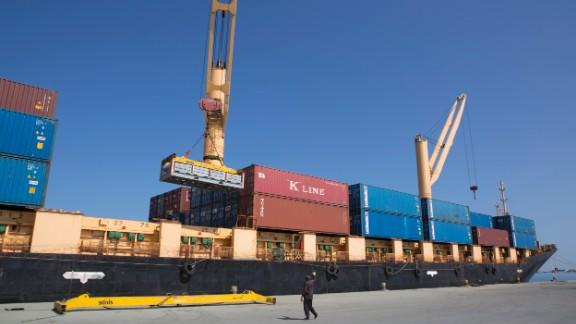 Somaliland hopes to rival neighboring Djibouti as a regional trade hub.