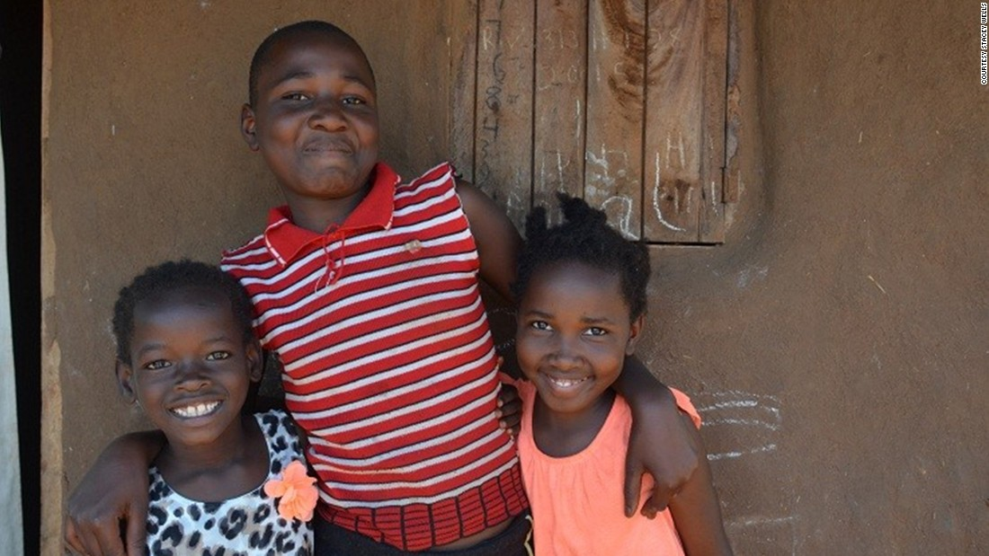 After her return, Violah, right, met with her sister, Resty, center, and Mata, left. Mata was taken from the same Ugandan village and also adopted by a US family. Like Violah, she was returned to her birth mother. <br />