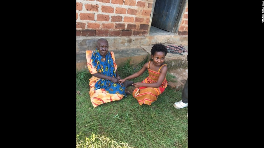 "Back in her village, Violah was also reunited with her great-grandmother. Wells and her husband thought they were giving an abandoned orphan a home. Instead, Stacey says, Violah ""was made an orphan.""<br />"