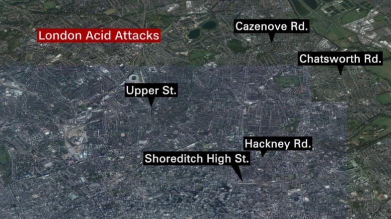 Teen arrested in London acid attacks
