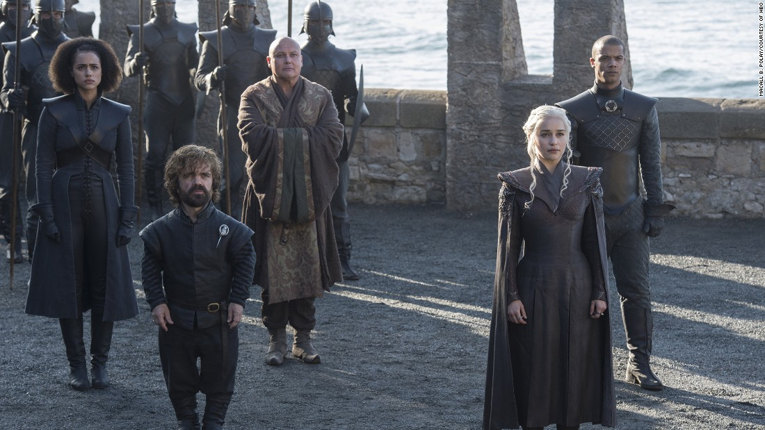 'Game Of Thrones' swept up two nominations.