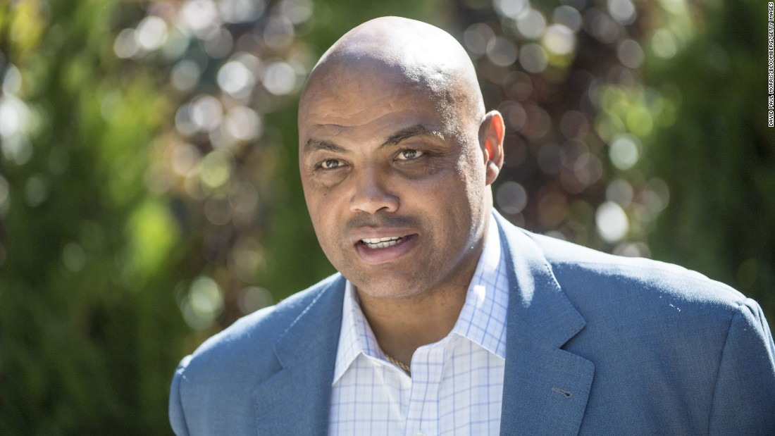 Hall of Fame basketball player Charles Barkley
